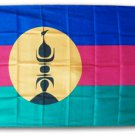 New Caledonia - 3'X5' Polyester Flag