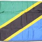 """Tanzania - 12"""""""" x 18"""""""" Nylon Flag"""