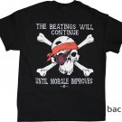 The Beatings Will Continue Cotton T-Shirt (S)