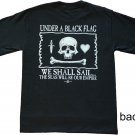 Under A Black Flag Cotton T-Shirt (M)