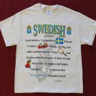 Sweden Definition T-Shirt (XL)