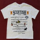 Scotland Definition T-Shirt (M)