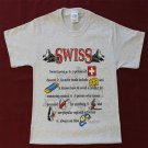 Switzerland Definition T-Shirt (S)