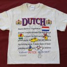 Netherlands Definition T-Shirt (L)