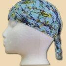 Blue Parrots EZDanna Headwrap