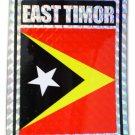 Timor-Leste (East Timor) Reflective Decal