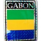 Gabon Reflective Decal