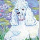 "Poodle (Bonet) - 12.5""""x18"""" Garden Banner"