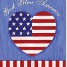 God Bless the USA Toland Art Banner