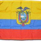 """Ecuador - 12""""""""X18"""""""" Nylon Flag (State)"""