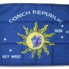 "Conch Republic - 12""X18"" Nylon Flag"