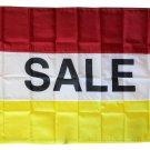 Sale - 3'X5' Nylon Flag (red/white/yellow)