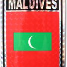 Maldives Reflective Decal
