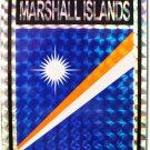 Marshall Islands Reflective Decal