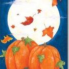 Pumpkin Moon Toland Art Banner