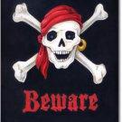 Beware Toland Art Banner