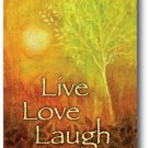 Live, Love, Laugh Toland Art Banner