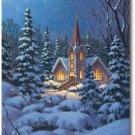 Snowy Steeple Toland Art Banner