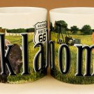 Oklahoma - ONE 18oz Coffee Mug