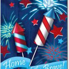 Home of the Brave Toland Art Banner