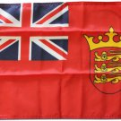 "Jersey - 12""""X18"""" Nylon Flag (Red Ensign)"