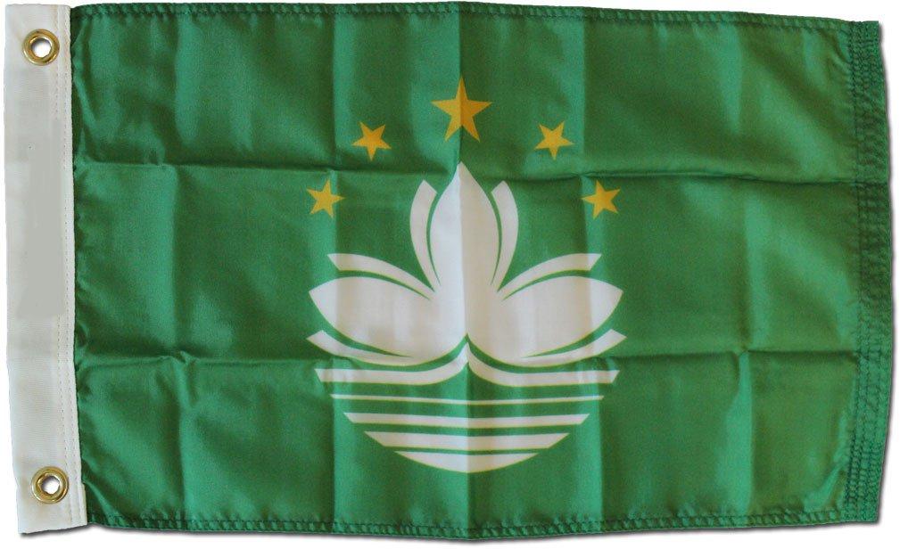"Macao - 12""X18"" Nylon Flag"