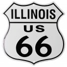 Route 66 Highway Shield - Illinois
