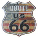 Route 66 Highway Shield - Vintage