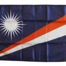"Marshall Islands - 12""""X18"""" Nylon Flag"