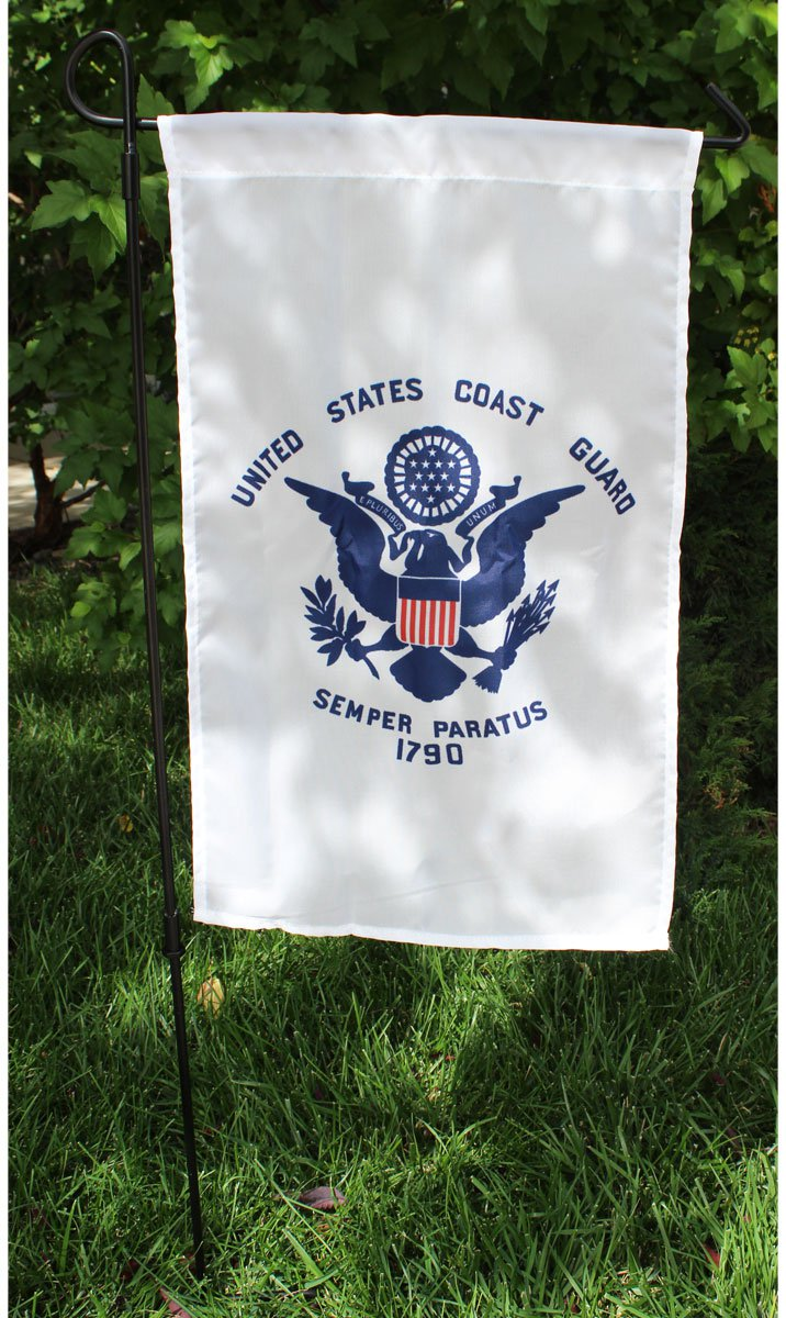 "Coast Guard - 12""x18"" Garden Banner"