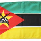 "Mozambique - 12""""X18"""" Nylon Flag"