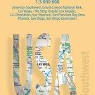 USA Southwest - Laminated Borch Road Map