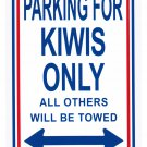 "New Zealand - 8"""" x 12"""" Metal Parking Sign"