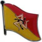 Sicily Flag Lapel Pin