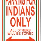 "India - 8""""x12"""" Metal Parking Sign"