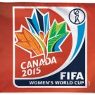 Canada World Cup 2015 - 3' x 5' Polyester Flag