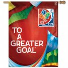 "Canada (To a Greater Goal) - 27"" x 37"" Women's World Cup 2015 Soccer Banner"
