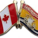Canada New Brunswick Friendship Lapel Pin