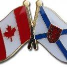 Canada Nova Scotia Friendship Lapel Pin