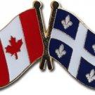 Canada Quebec Friendship Lapel Pin