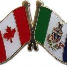 Canada Yukon Territory Friendship Lapel Pin