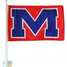 University of Mississippi Car Flag