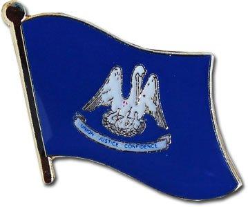 Louisiana Flag Lapel Pin