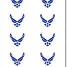 Air Force 50 Count Sticker Pack