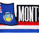Montserrat Cut-Out Patch
