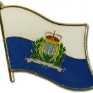 San Marino Flag Lapel Pin
