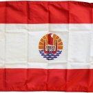 French Polynesia - 4' X 6' Nylon Flag