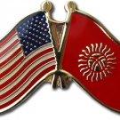 Kyrgyzstan Friendship Pin
