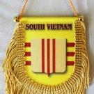 South Vietnam (Crest) Window Hanging Flag (Shield)
