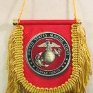 Marines Window Hanging Flag (Shield)